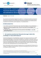 """FBGIB-004 """"Psychische Belastung und Beanspruchung von Beschäftigten im Gesundheitsdienst während der Coronavirus-Pandemie"""""""
