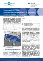 """FBHM-113 """"Horizontalplattenkreissägemaschinen mit Druckbalken - Bau und Ausrüstung zum sicheren Verwenden"""""""
