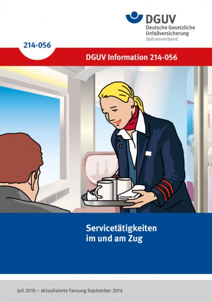Servicetätigkeiten im und am Zug