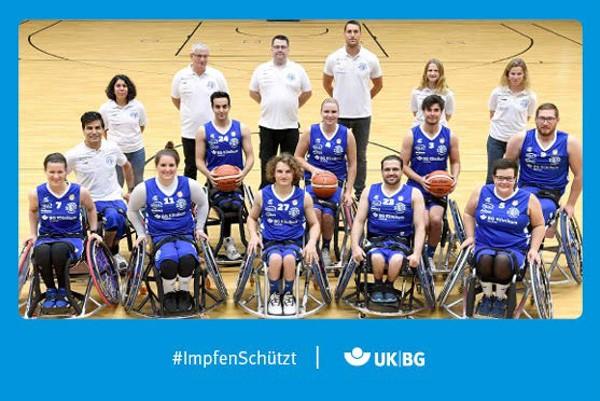 "Motiv #ImpfenSchützt, ""BG Baskets Hamburg"" (UK|BG)"