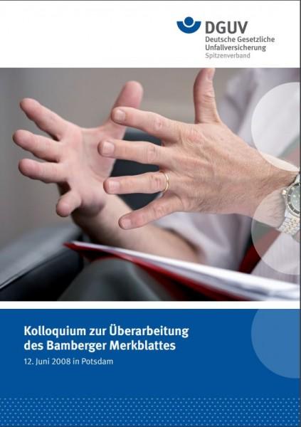 Kolloquium zur Überarbeitung des Bamberger Merkblattes