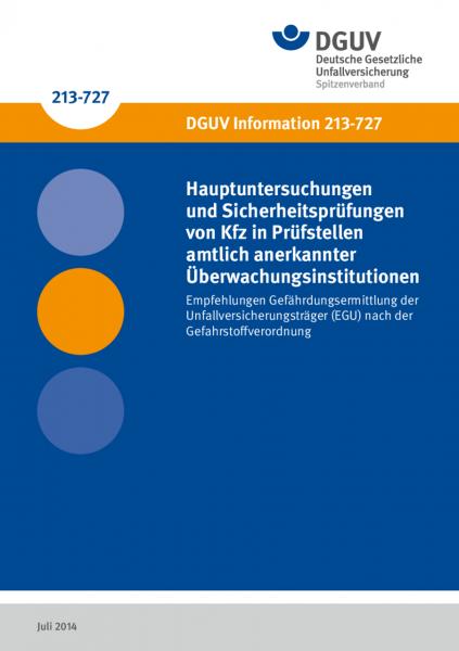 Hauptuntersuchungen und Sicherheitsprüfungen von Kfz in Prüfstellen amtlich anerkannter Überwachungs