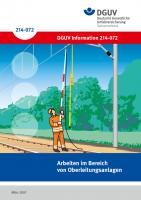 Gefährdungs- und Belastungs-Katalog - Arbeiten im Bereich von Oberleitungsanlagen