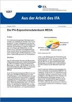 IFA-Expositionsdatenbank MEGA. Aus der Arbeit des IFA Nr. 0207