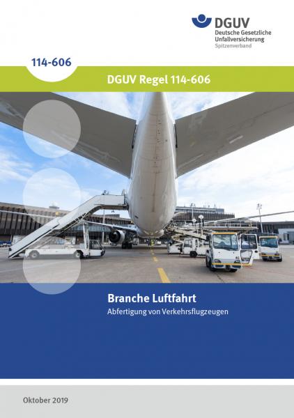 Branche Luftfahrt: Abfertigung von Verkehrsflugzeugen