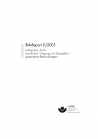 Krebsrisiko durch beruflichen Umgang mit Zytostatika, BIA-Report 5/2001
