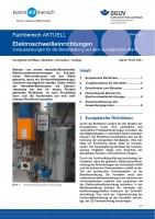 """FBHM-115 """"Elektroschweißeinrichtungen - Voraussetzungen für die Bereitstellung auf dem europäischen Markt"""""""