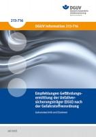 Galvanotechnik und Eloxieren - Empfehlungen Gefährdungsermittlung der Unfallversicherungsträger (EGU) nach der Gefahrstoffverordnung