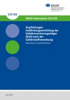 Empfehlungen  Gefährdungsermittlung der  Unfallversicherungsträger  (EGU) nach der Gefahrstoffverordnung - Mehlstaub in Backbetrieben