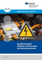 Qualifizierung für Arbeiten an Fahrzeugen mit Hochvoltsystemen