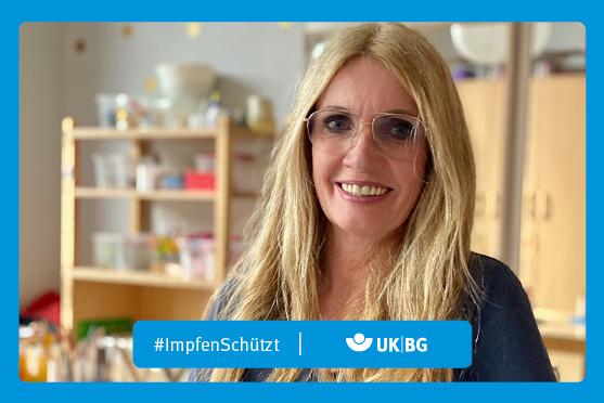 "Motiv #ImpfenSchützt, ""Christa Manske"" (UK|BG)"