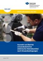Auswahl und Betrieb ortsveränderlicher elektrischer Betriebsmittel nach Einsatzbedingungen