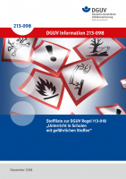 """Stoffliste zur DGUV Regel 113-018 """"Unterricht in Schulen mit gefährlichen Stoffen"""""""