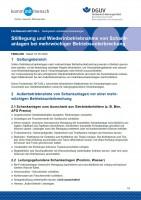 """FBNG-009 """"Stilllegung und Wiederinbetriebnahme von Schankanlagen bei mehrwöchiger Betriebsunterbrechung"""""""