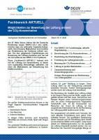 """FBHM-114 """"Möglichkeiten zur Bewertung der Lüftung anhand der CO2-Konzentration"""""""