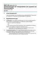 Sicherheitsregeln für Transportanker und -systeme von Betonfertigteilen