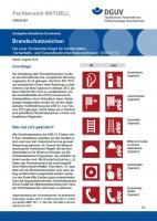 """FBFHB-007 """"Brandschutzzeichen - Die neue Technische Regel für Arbeitsstätten """"Sicherheits- und Gesundheitsschutzkennzeichnung"""" (ASR A1.3)"""""""