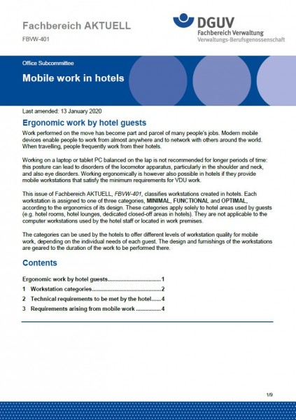"FBVW-401 ""Mobile work in hotels"""