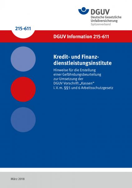 Kredit- und Finanzdienstleistungsinstitute – Hinweise für die Erstellung einer Gefährdungsbeurteilu