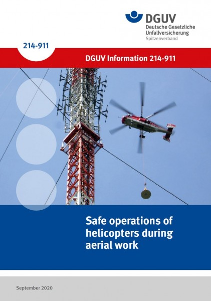 Safe operations of helicopters during aerial work