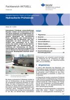 """FBHM-086 """"Hydraulische Prüfstände"""""""