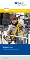 """Prüf dein Rad - Checkliste für """"Das sichere Fahrrad"""""""