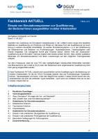 """FBHL-019 """"Einsatz von Simulationssystemen zur Qualifizierung der Bediener/innen ausgewählter mobiler Arbeitsmittel"""""""