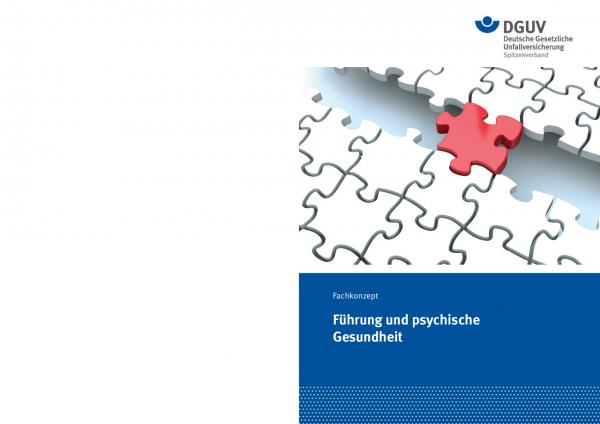 """Fachkonzept """"Führung und psychische Gesundheit"""""""