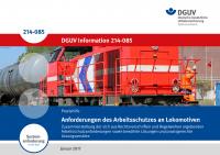 Anforderungen des Arbeitsschutzes an Lokomotiven
