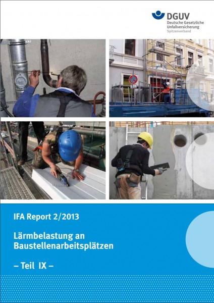 Lärmbelastung an Baustellenarbeitsplätzen - Teil IX: Einwirkung auf Heizungs- und Sanitärinstallateu
