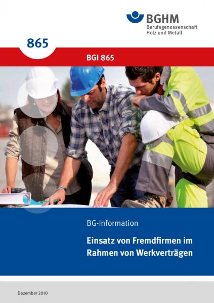Einsatz von Fremdfirmen im Rahmen von Werkverträgen