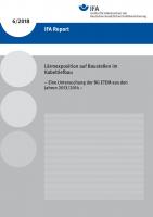 IFA Report 6/2018: Lärmexposition auf Baustellen im Kabeltiefbau - Eine Untersuchung der BG ETEM aus den Jahren 2013/2014