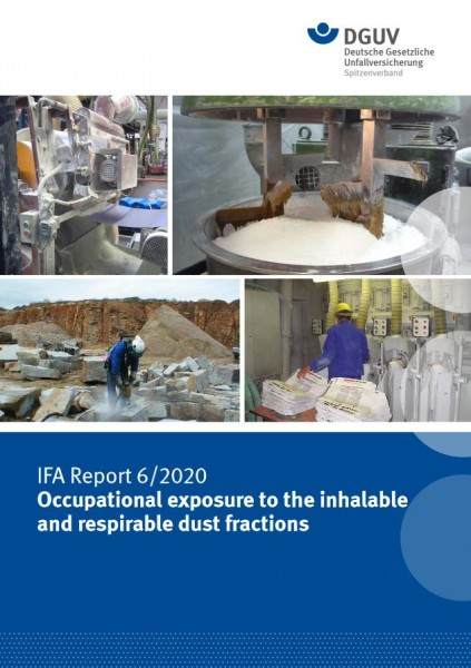 IFA Report 6/2020e: Occupational exposure to inhalable and respirable dust fractions