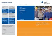 Betriebliches Eingliederungsmanagement - Ihr Betriebsarzt hilft