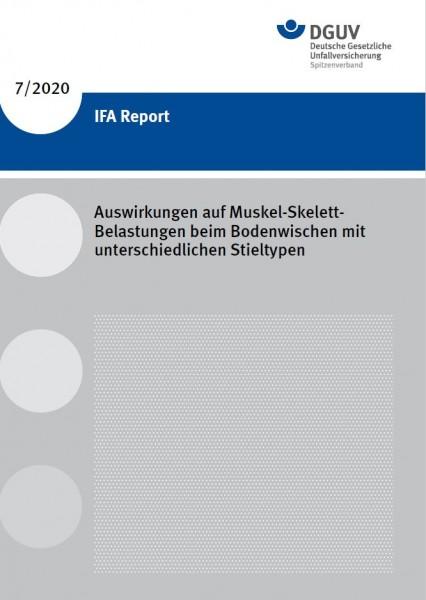IFA Report 7/2020: Auswirkungen auf Muskel-Skelett-Belastungen beim Bodenwischen mit unterschiedlich
