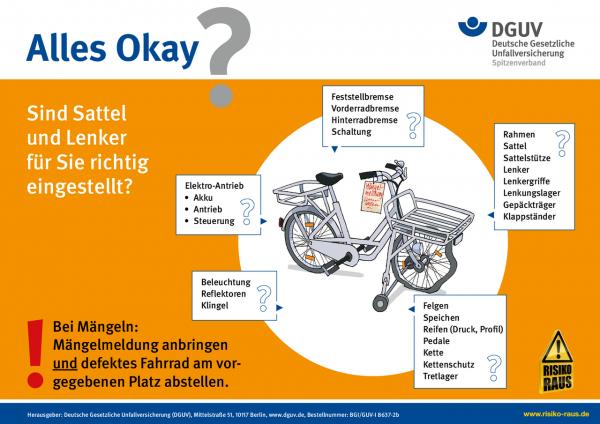 Zustellfahrrad-Check (DIN A4)