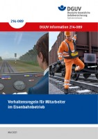 Verhaltensregeln für Mitarbeiter im Eisenbahnbetrieb