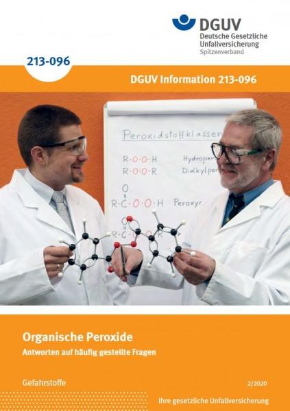 """Organische Peroxide - Antworten auf häufig gestellte Fragen (Merkblatt M 058 der Reihe """"Gefahrstoffe"""