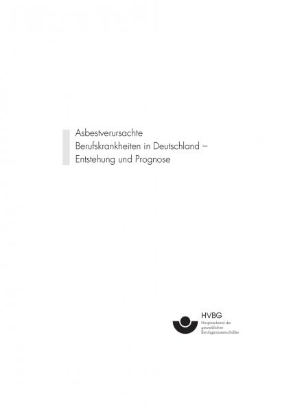 Asbestverursachte Berufskrankheiten in Deutschland