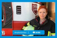 "Motiv #ImpfenSchützt ""Dr. Patricia Bunke"" (UK|BG)"