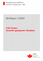 Call-Center, BIA-Report 1/2003