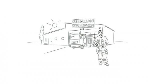 Freiwillige Feuerwehr: Arbeitsunfall - was ist das?