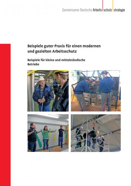 Beispiele guter Praxis für einen modernen und gezielten Arbeitsschutz - Beispiele für kleine und mit