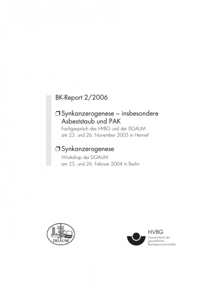 Synkanzerogenese, BK-Report 2/2006
