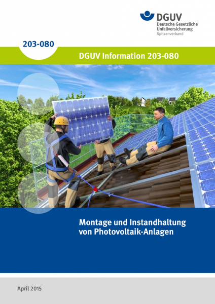 Montage und Instandhaltung von Photovoltaik-Anlagen