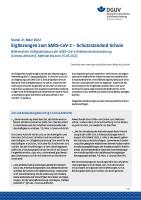 SARS-CoV-2 – Schutzstandard Schule