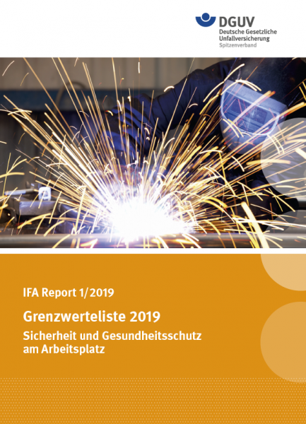 Grenzwerteliste 2019 (IFA Report 1/2019)