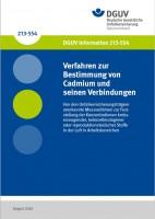 Verfahren zur Bestimmung von Cadmium und seinen Verbindungen