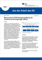 Messsystem Gefährdungsermittlung der Unfallversicherungsträger (MGU) (Aus der Arbeit des IFA Nr. 0021)