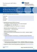 """FBFHB-011 """"Ärztliche Bescheinigung - über die Untersuchung von Einsatzkräften der Freiwilligen Feuerwehr"""""""